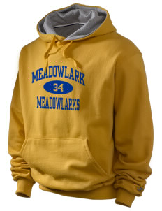 Meadowlark Elementary School Meadowlarks Champion Men's Hooded Sweatshirt