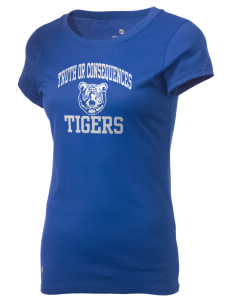 Truth Or Consequences Elementary School Tigers Holloway Women's Groove T-Shirt