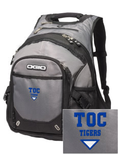 Truth Or Consequences Elementary School Tigers Embroidered OGIO Fugitive Backpack