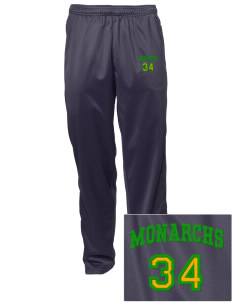 Meadows Elementary School Monarchs Embroidered Men's Tricot Track Pants