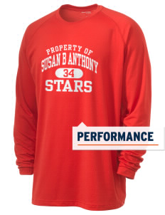 Susan B Anthony Elementary School Stars Men's Ultimate Performance Long Sleeve T-Shirt