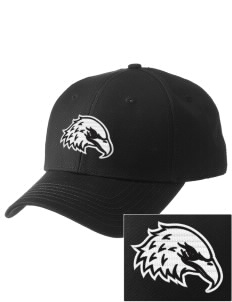 White Eagle Christian Academy Eagles  Embroidered New Era Adjustable Structured Cap