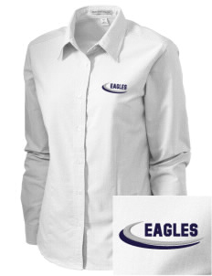 Calvary Oasis Christian School Eagles Embroidered Women's Classic Oxford