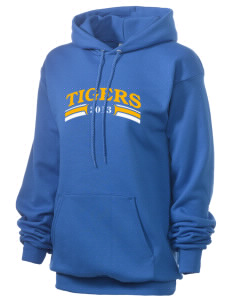 Connelly School Of The Holy Child Tigers Unisex 7.8 oz Lightweight Hooded Sweatshirt