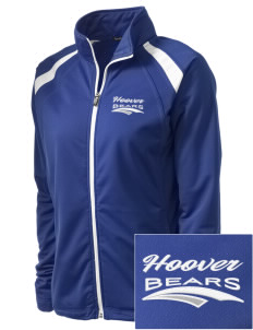 Hoover Elementary School Bears Embroidered Women's Tricot Track Jacket