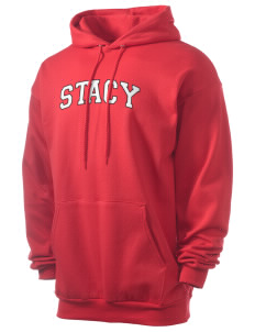 Stacy Middle School Hawks Men's 7.8 oz Lightweight Hooded Sweatshirt