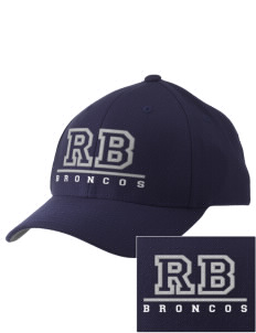 Rancho Bernardo High School Broncos Embroidered Pro Model Fitted Cap