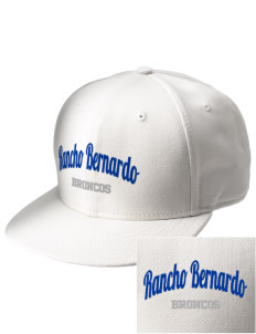 Rancho Bernardo High School Broncos  Embroidered New Era Flat Bill Snapback Cap