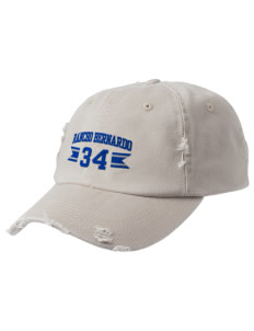 Rancho Bernardo High School Broncos Embroidered Distressed Cap