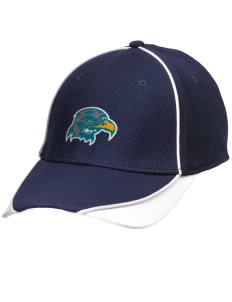 Heights Christian Junior High School Hawks Embroidered New Era Contrast Piped Performance Cap
