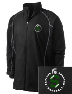 Skyline High School Spartans Embroidered Men's Nike Golf Full Zip Wind Jacket