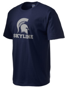 Skyline High School Spartans Ultra Cotton T-Shirt