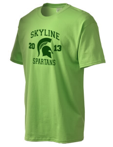 Skyline High School Spartans Tall Men's Essential T-Shirt