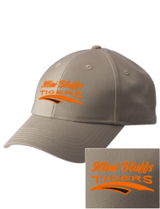Illini Bluffs Elementary School Tigers  Embroidered New Era Adjustable Structured Cap