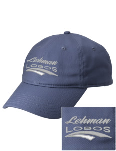Lehman High School Lobos  Embroidered New Era Adjustable Unstructured Cap