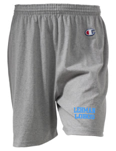 "Lehman High School Lobos  Champion Women's Gym Shorts, 6"" Inseam"