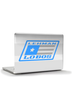 "Lehman High School Lobos Apple MacBook Pro 15"" & PowerBook 15"" Skin"