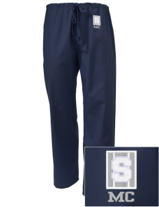 Midway Christian School Shields Embroidered Scrub Pants