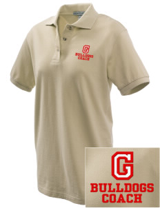 Gordon-Barbour Elementary School Bulldogs Embroidered Women's Pique Polo