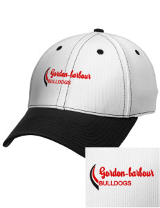 Gordon-Barbour Elementary School Bulldogs Embroidered New Era Snapback Performance Mesh Contrast Bill Cap