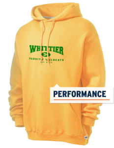 Whittier Elementary School Wildcats Russell Men's Dri-Power Hooded Sweatshirt