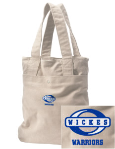 Wickes Elementary School Warriors Embroidered Alternative The Berkeley Tote