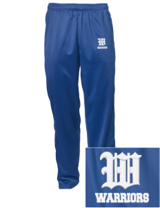 Wickes Elementary School Warriors Embroidered Men's Tricot Track Pants