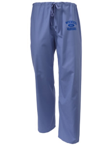 Wickes Elementary School Warriors Scrub Pants