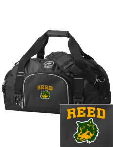 Reed Middle School Wolves  Embroidered OGIO Big Dome Duffel Bag