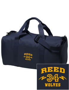 Reed Middle School Wolves Embroidered Holloway Duffel Bag
