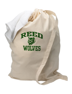 Reed Middle School Wolves Laundry Bag