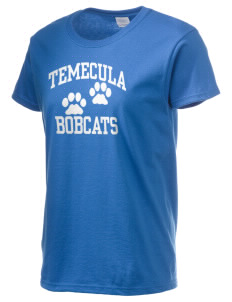 Temecula Middle School Bobcats Women's 6.1 oz Ultra Cotton T-Shirt