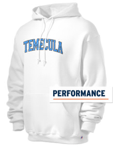 Temecula Middle School Bobcats Russell Men's Dri-Power Hooded Sweatshirt