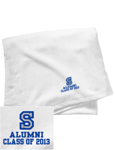 Sylvan Middle School Squires Embroidered Beach Towel