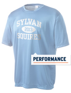 Sylvan Middle School Squires Men's Competitor Performance T-Shirt