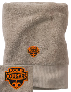 Kolb Middle School Cougars Embroidered Zero Twist Resort Towel