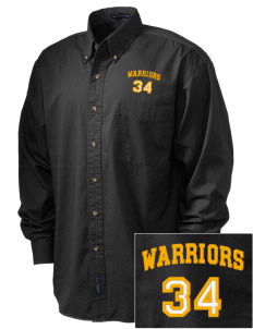 Golden State Middle School Warriors Embroidered Tall Men's Twill Shirt