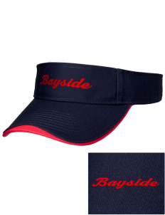 Bayside School Cougars Embroidered Binding Visor