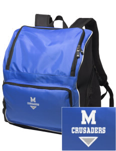 McCabe Elementary School Crusaders Embroidered Holloway Backpack