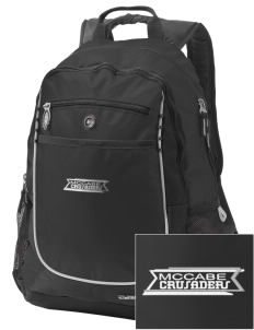McCabe Elementary School Crusaders Embroidered OGIO Carbon Backpack