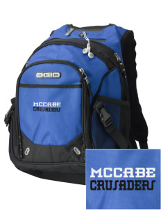 McCabe Elementary School Crusaders Embroidered OGIO Fugitive Backpack