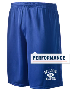 "Wilson Junior High School Warriors Holloway Men's Speed Shorts, 9"" Inseam"