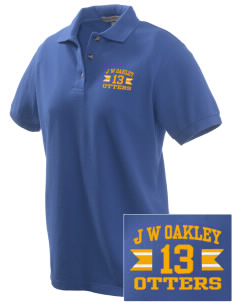 J W Oakley Primary School Otters Embroidered Women's Pique Polo