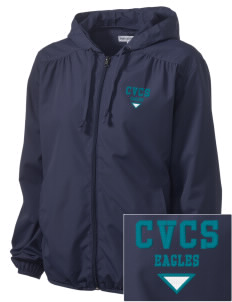Cielo Vista Elementary School Eagles Embroidered Women's Hooded Essential Jacket