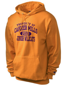 Carrier Mills Elementary School Junior Wildcats Champion Men's Hooded Sweatshirt
