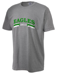Independence Charter High Eagles  Russell Men's NuBlend T-Shirt