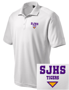 Sims Junior High School Tigers Embroidered Nike Men's Dri-Fit Classic Polo