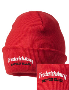 Fredericksburg Middle School Battlin Billies Embroidered Knit Cap