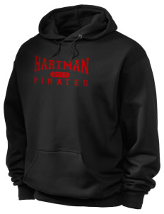 Hartman Middle School Pirates Holloway Men's 50/50 Hooded Sweatshirt