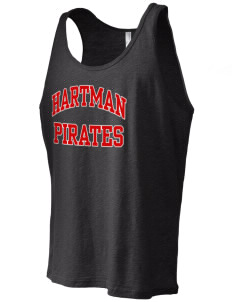 Hartman Middle School Pirates Men's Jersey Tank